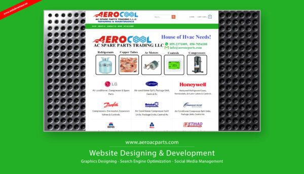 Aero Cool AC Spare Parts Trading Dubai
