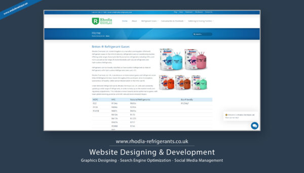 Rhodia Chemicals Ltd. United Kingdom