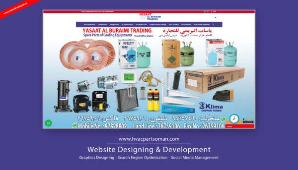Yasaat Al Buraimi AC Spare Parts Oman